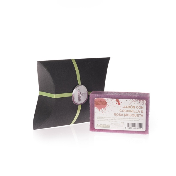 GÓNDOLA JABÓN -Jabón con cochinilla y rosa mosqueta - 1