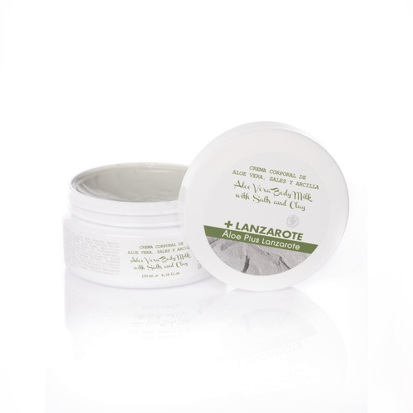 CLAY, SALTS AND ALOE VERA BODY CREAM 250 ml  - 1