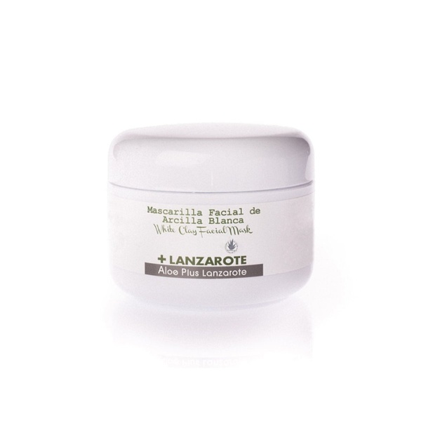 ALOE VERA AND WHITE CLAY FACE MASK 100ml - 1