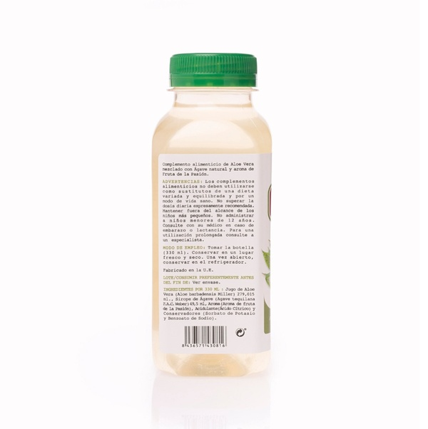 FOOD SUPPLEMENT – PASSION FRUIT FLAVOR JUICE 330ml - 2