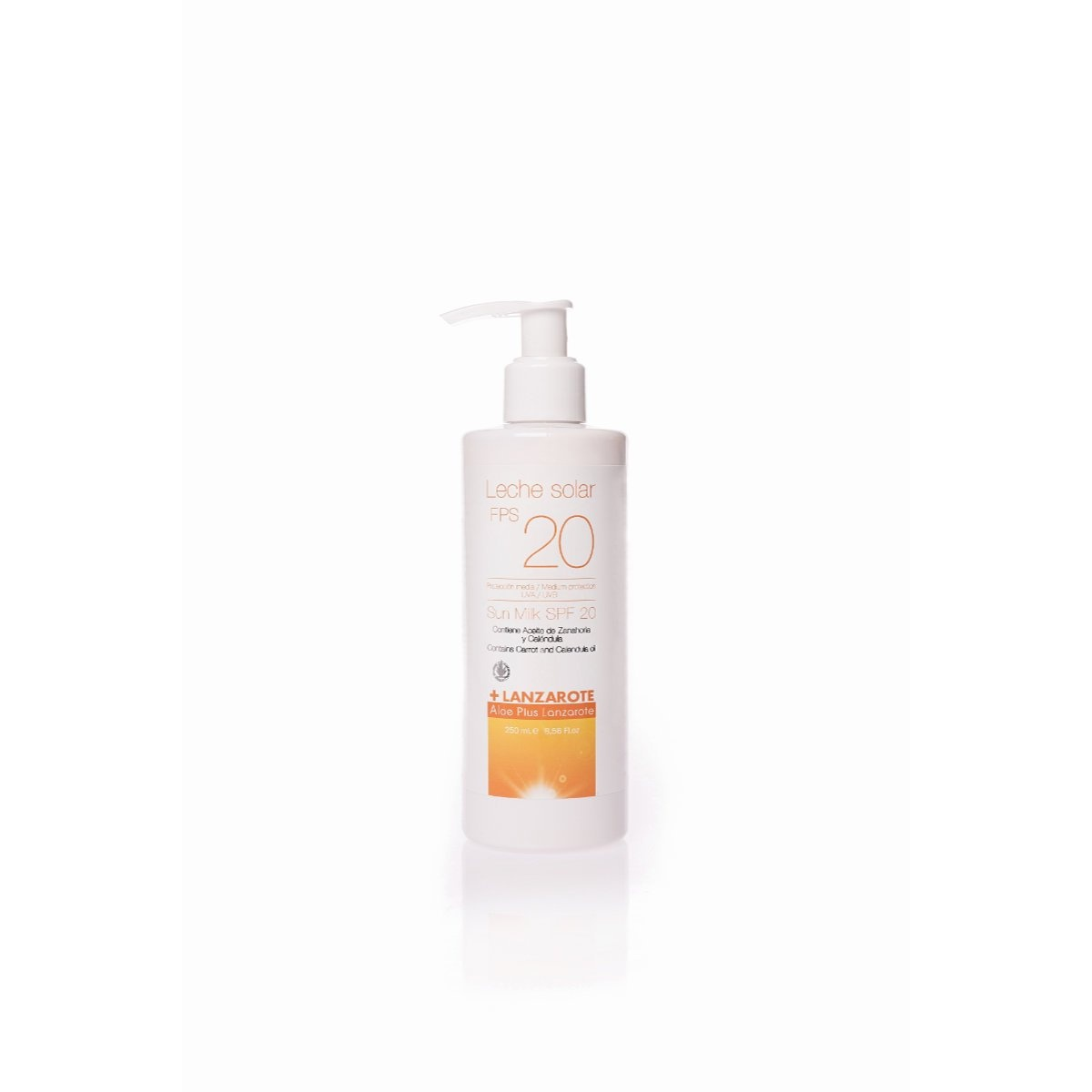 ALOE VERA SUNSCREEN SPF20 250ml