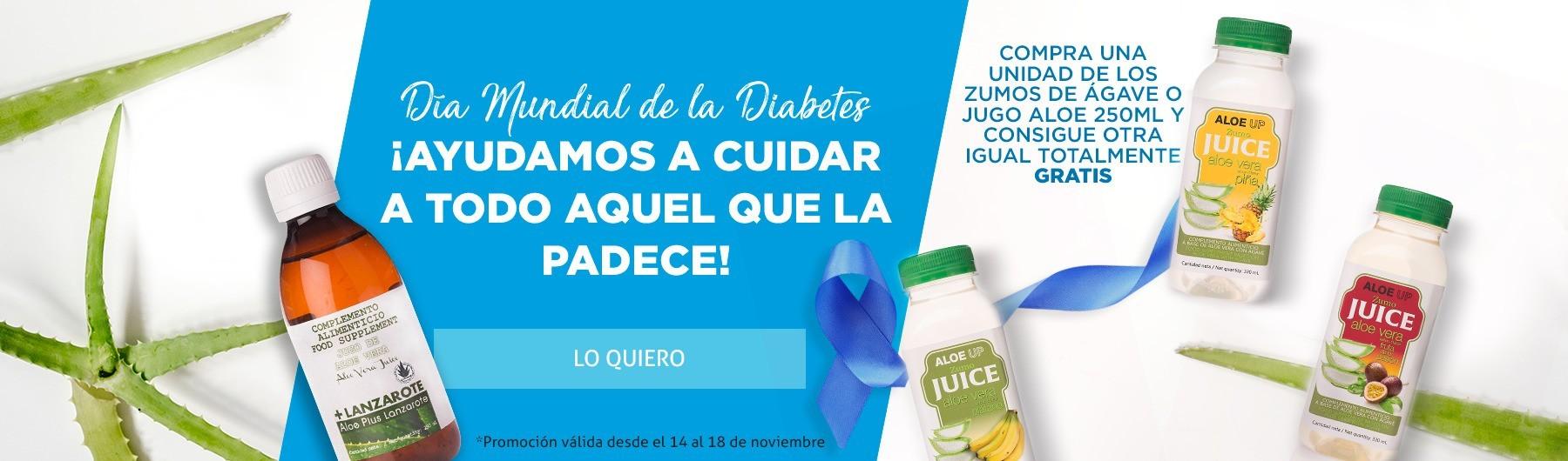Promoción 2x1 - 14N   Día mundial de la Diabetes